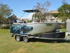Finished 6m custom boat