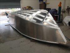 New boat build - progress photo of 6m boat