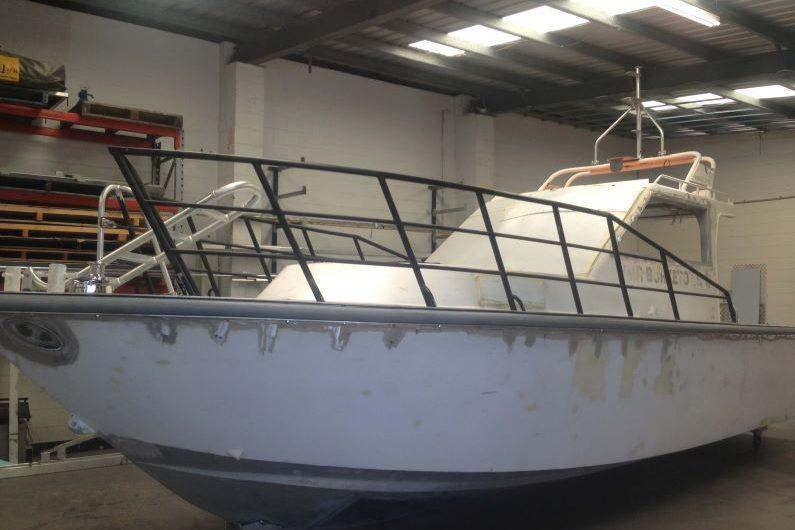 vessel refit - progress photo 3