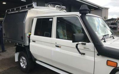 Dual cab Landcruiser for NPWS